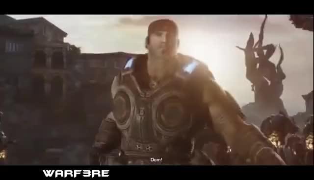 Gears of War 3 - Dom's Death Scene :( R I P  DOM (Saddest Death