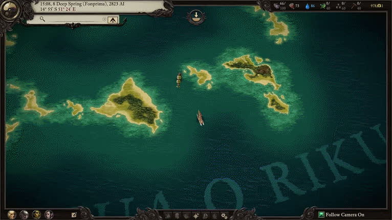 Pillars of Eternity 2: Deadfire - Ship GIFs