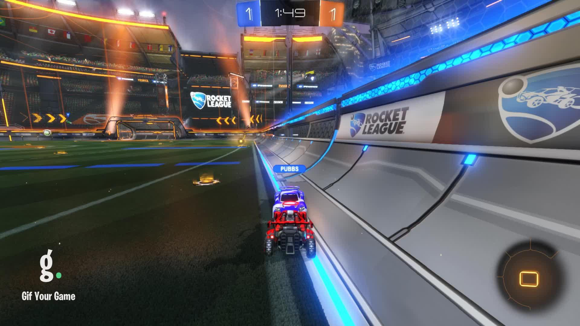 Gif Your Game, GifYourGame, Goal, Rocket League, RocketLeague, Yung Vince, Goal 3: Acrypse GIFs