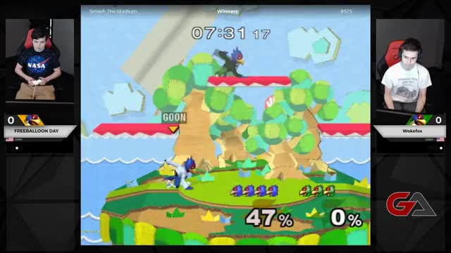 Watch and share GameArenaCo Playing Super Smash Bros. Melee - Twitch Clips GIFs on Gfycat