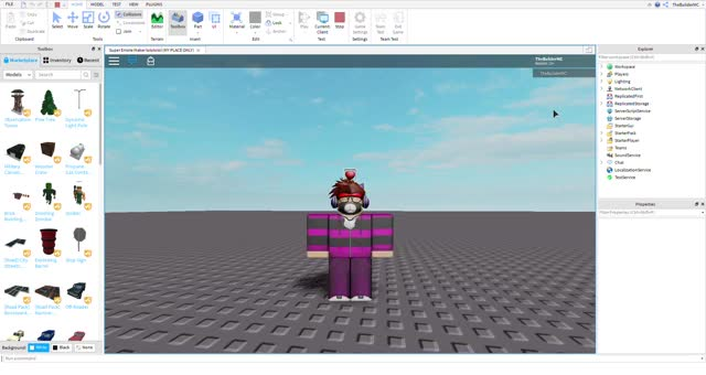 Watch and share Super Emote Maker Lolololol (MY PLACE ONLY) - Roblox Studio 8 12 2019 7 36 54 PM GIFs on Gfycat