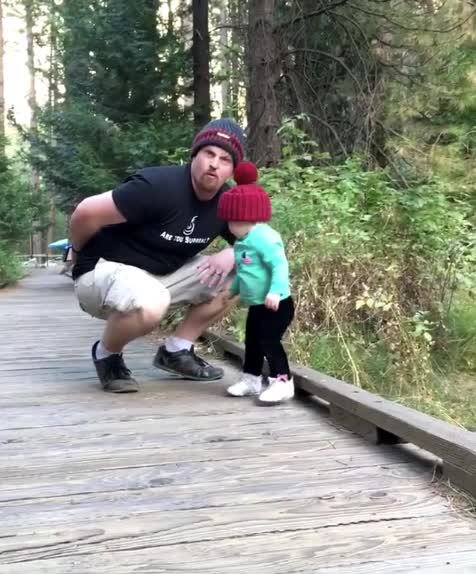 Dad reflexes GIFs
