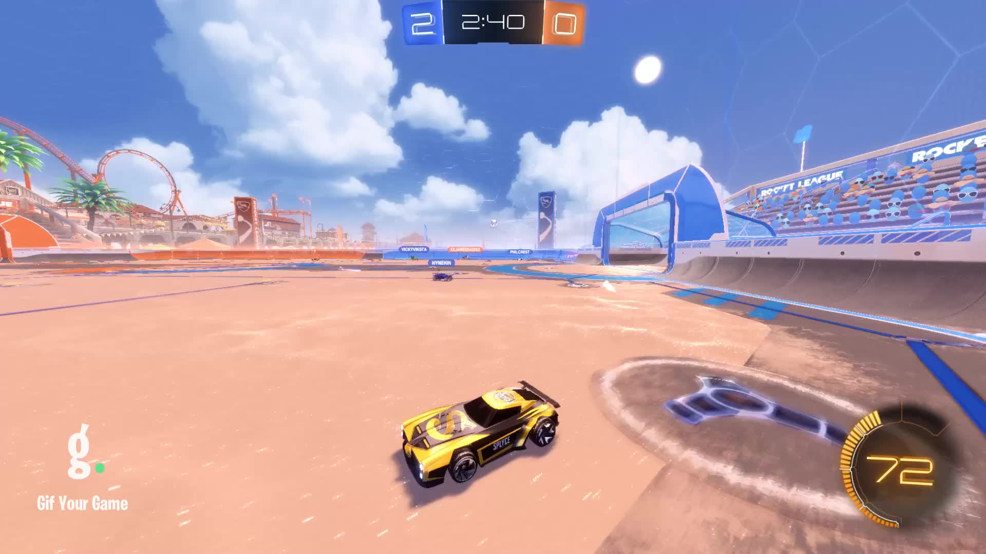 Gif Your Game, GifYourGame, Goal, Rieces, Rocket League, RocketLeague, Goal 3: Rieces GIFs