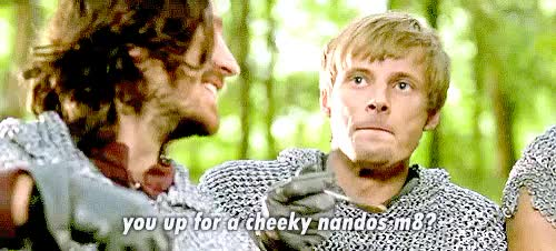 Watch and share Knights Of Camelot GIFs and Arthur Pendragon GIFs on Gfycat