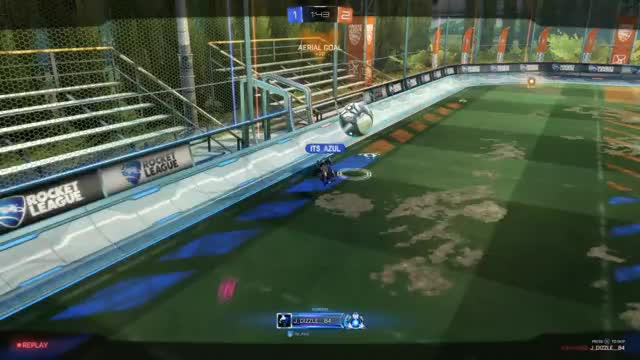 Watch and share Aerial Goal Top Of Net GIFs on Gfycat