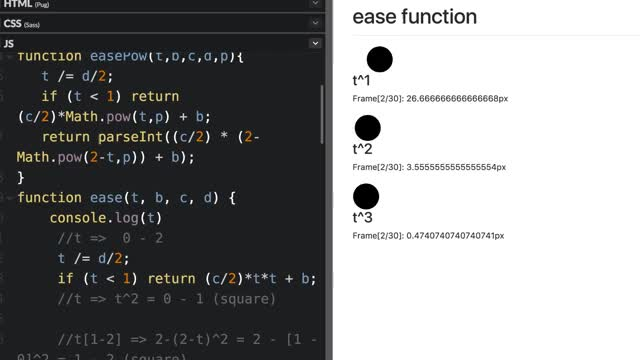 Watch and share Easing Function Study GIFs by 吳哲宇 on Gfycat
