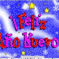 Watch and share Feliz Y Prospero Año Nuevo animated stickers on Gfycat