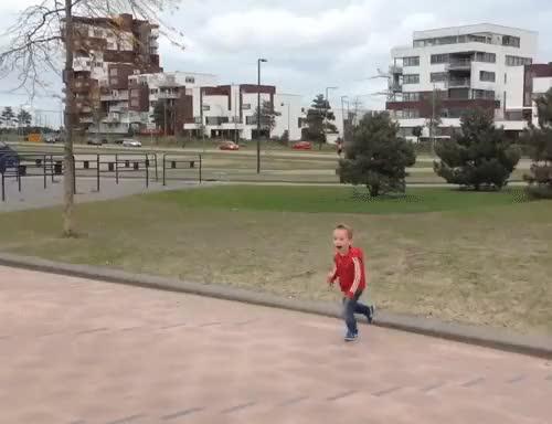 Watch and share Run Fall GIFs on Gfycat