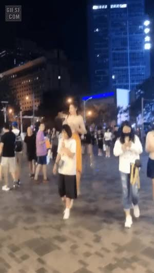 Watch and share  엄청난 시선 강탈 처자 Gif GIFs by podong on Gfycat