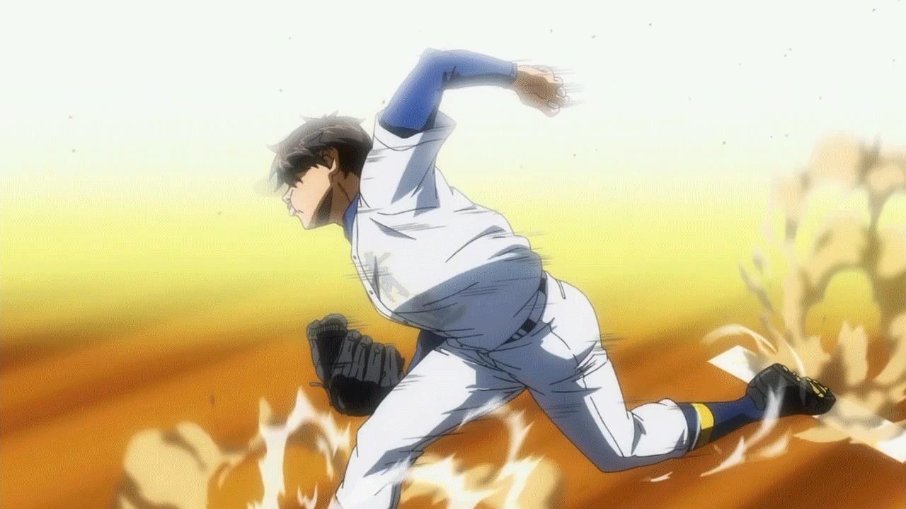 anime, animehtml5, qualityanime, Diamond No Ace Season 2 Pitch GIFs