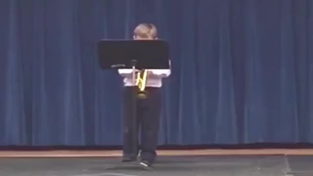 Watch Trumpet solo GIF on Gfycat. Discover more childrenfallingover GIFs on Gfycat