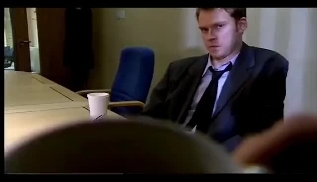 Watch and share Jez Tries To Ruin His Own Interview - Peep Show GIFs on Gfycat
