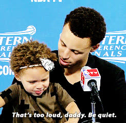steph curry, stephen curry, riley curry GIFs