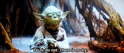 Watch and share There Is No Try Yoda GIFs on Gfycat