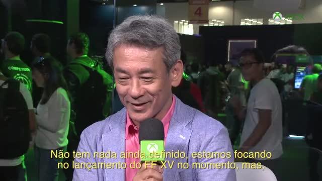 Watch Inside Xbox na BGS - Entrevista Shinji Hashimoto [Final Fantasy XV] GIF by Hazuki (@jvhazuki) on Gfycat. Discover more brasil game show, final fantasy xv, square enix GIFs on Gfycat