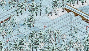 OpenTTD, snowy trains, OpenTTD Snowy Trains GIFs