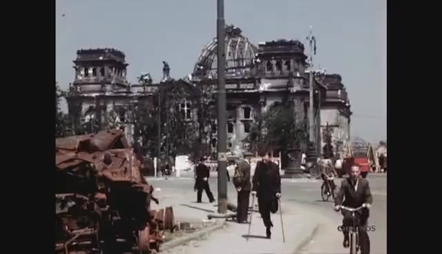 Watch and share Amazing Footage Of Life In Berlin In July 1945 GIFs on Gfycat