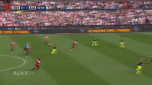 Watch Highlights Feyenoord - Ajax GIF on Gfycat. Discover more 14/15, AFC Ajax (Football Team), De Klassieker, Football (Interest), ajax, ajax tv, eredivisie, highlights, nieuws, wedstrijden GIFs on Gfycat