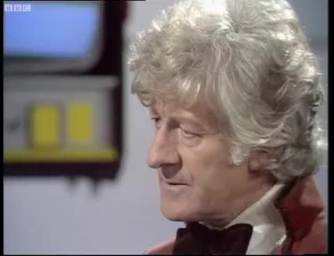 doctorwho, 2nd and 3rd Doctor GIFs