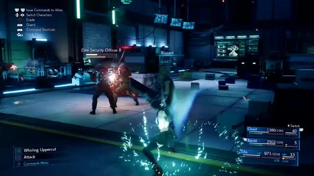 Watch and share Final Fantasy VII Remake - Battle GIFs by PlayStation on Gfycat