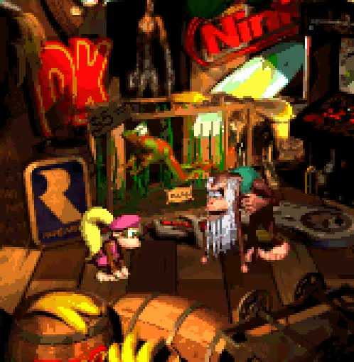 Watch Donkey Kong Country 2: Diddy's Kong Quest, SNES. GIF on Gfycat. Discover more animated, donkey kong, donkey kong country, donkey kong country 2, gif, nintendo, pixel, rare, snes, vgjunk GIFs on Gfycat