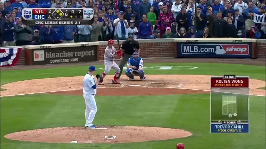 baseball pitch nasty filthy, filthypitches, kolten wong mlb, Trevor Cahill pitch falls off the table (2015 NLDS, Game 4) GIFs