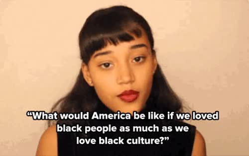Watch Black people GIF on Gfycat. Discover more amandla stenberg GIFs on Gfycat