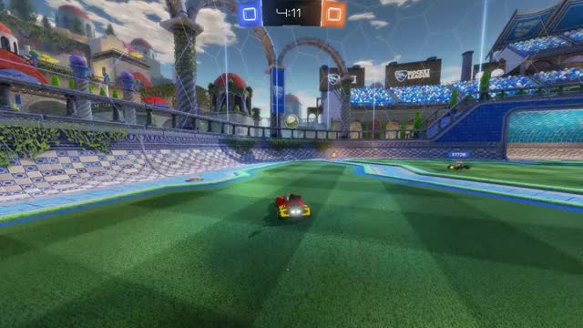 Watch and share Rocket League GIFs and Goal GIFs by solid0snake on Gfycat