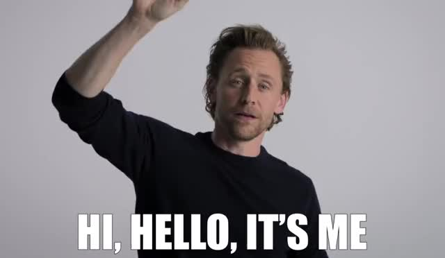Watch and share It's Me Loki GIFs by GIF GIF Baby on Gfycat