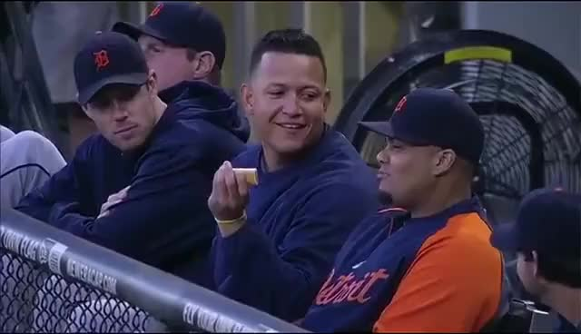Watch and share Miguel Cabrera GIFs and Detroit GIFs on Gfycat