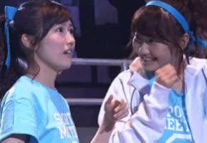 Watch and share Kashiwagi Yuki GIFs and Watanabe Mayu GIFs by popocake on Gfycat