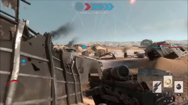 Watch and share Battlefront GIFs and Star Wars GIFs by dotwerdna on Gfycat