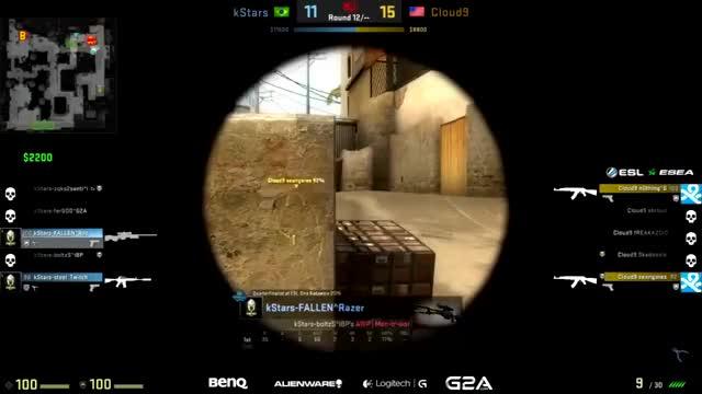 FalleN's sick shot on n0thing (reddit)
