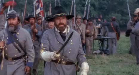 Watch Confederate Generals Leading His Men On Foot GIF by @nurdbot on Gfycat. Discover more related GIFs on Gfycat