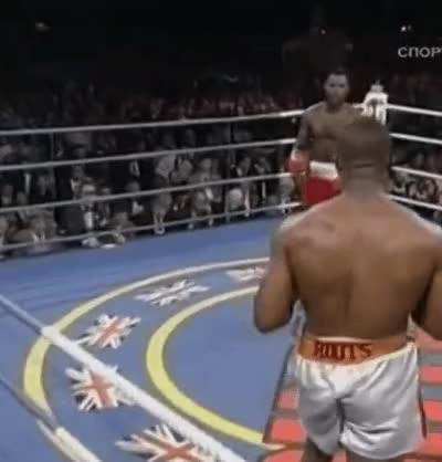 "Watch [GIF] ""On Halloween, Lennox Lewis introduced the boxing world to what would become one of the most scary shots in heavyweight history - the Lewis right hand."" Lewis vs Ruddock. This Day In Boxing Oct 31 1992. (reddit) GIF on Gfycat. Discover more Boxing, boxing GIFs on Gfycat"
