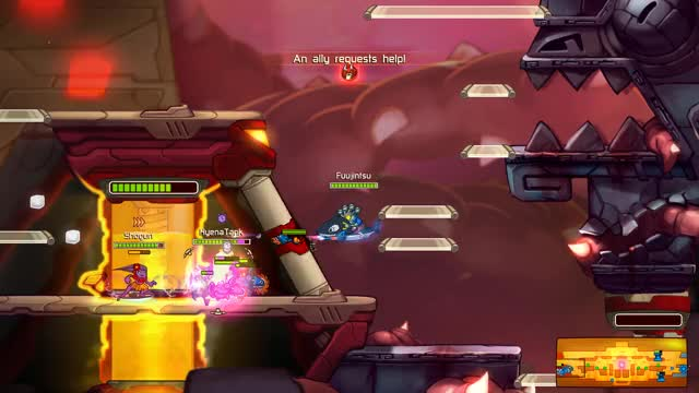 Watch Awesomenauts - L1 skoll throw GIF by @justfornauts on Gfycat. Discover more related GIFs on Gfycat