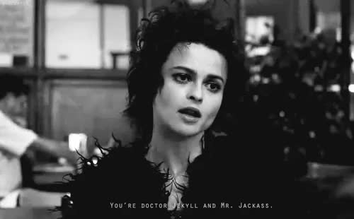 Watch this GIF on Gfycat. Discover more Helena Bonham Carter, el club de la pelea, fight club, marla singer GIFs on Gfycat