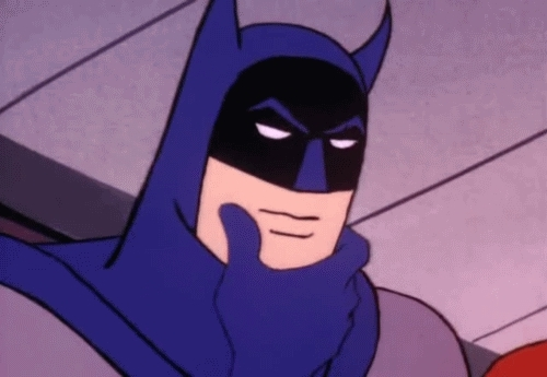 batman, confused, hmm, thinking, thinking face, Hmm GIFs