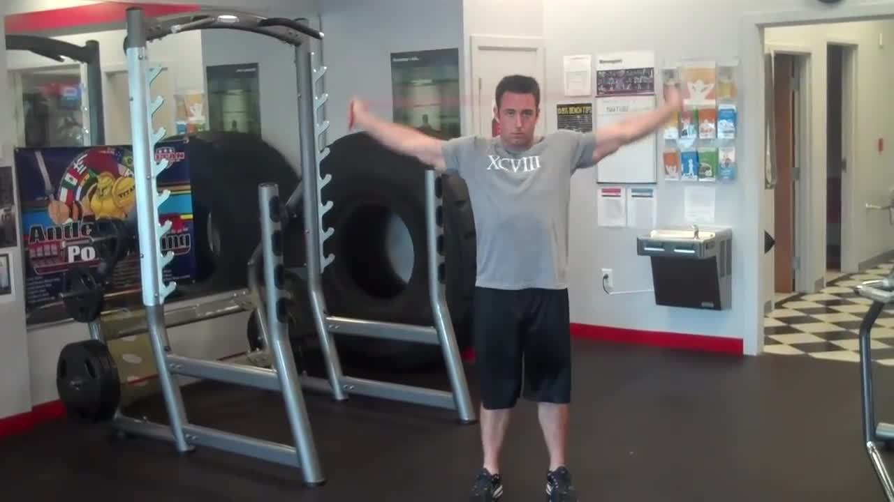 flexibility, July is Shoulder Flexibility Month at /r/flexibility! Look inside for a few mobility drills and stretches you could do everyday this week to help open your shoulders! (reddit) GIFs