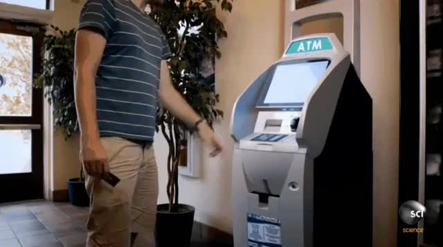 Watch and share Inside An ATM GIFs on Gfycat
