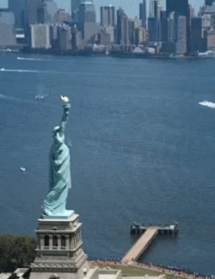 Watch Melting Statue Of Liberty. (.com) GIF on Gfycat. Discover more related GIFs on Gfycat