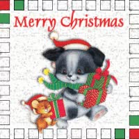 Watch and share Merry Christmas With Animals GIFs on Gfycat