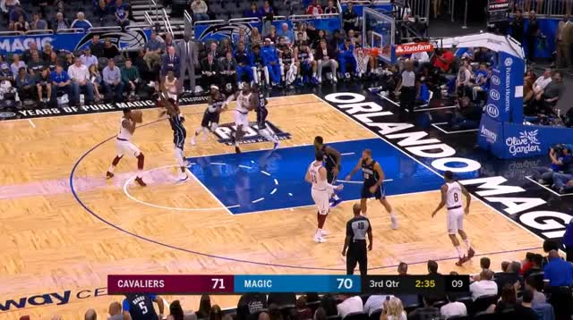 Watch and share Cleveland Cavaliers GIFs and Orlando Magic GIFs by prejuce on Gfycat