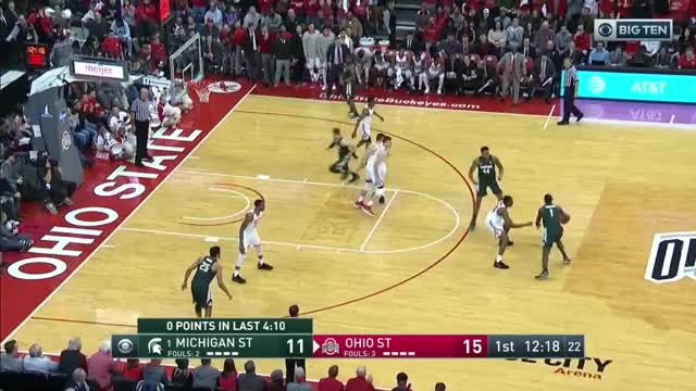 Watch and share Nick Ward Doubles Vs. OSU GIFs by umhoops on Gfycat