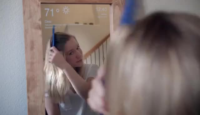 How to Make a Raspberry Pi Smart Mirror GIFs