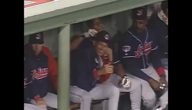 Watch and share 1995 ALDS Gm3: Indians Get Final Out, Advance To ALCS GIFs on Gfycat