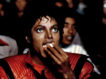 cinema, drinking, eat, eating, food, hungry, laugh, lol, michael jackson, mj, movies, popocorn, smile, MJ forever GIFs