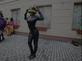 Watch and share Oniksiya Sofinikum As Celty Sturluson From Durarara!! (reddit) GIFs on Gfycat