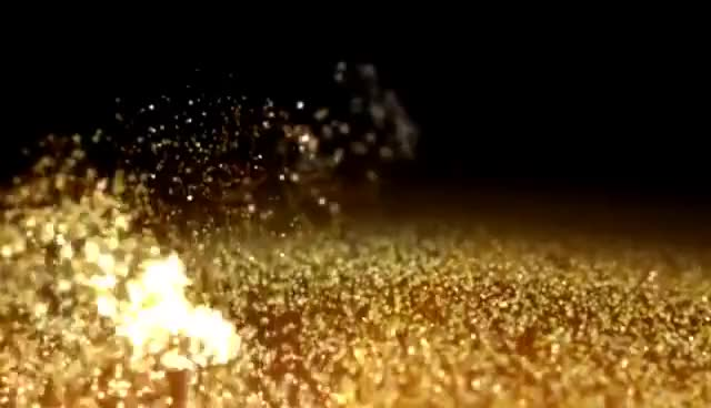 Watch and share Gold Dust Wind Particles Hd Background GIFs on Gfycat