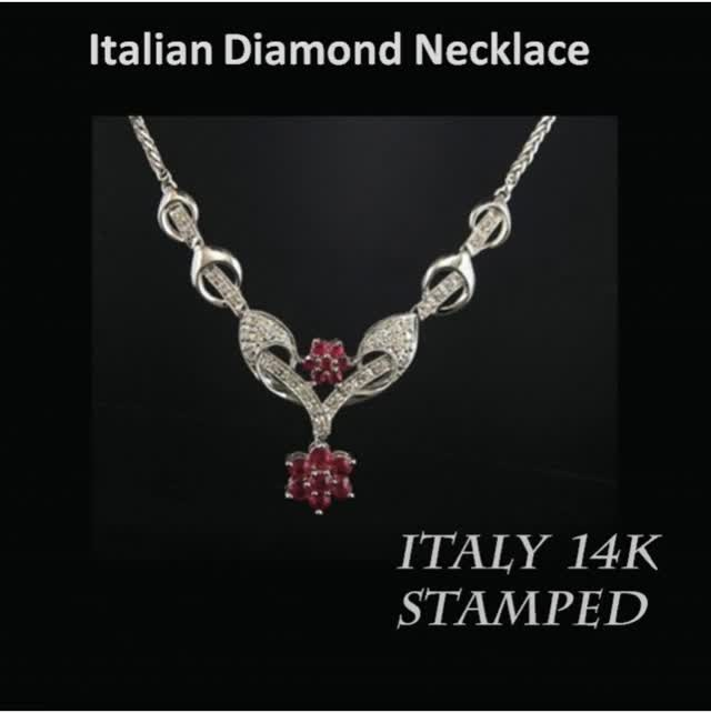 Watch and share Italian Diamond GIFs and Necklace GIFs by Romantic Jewelers on Gfycat